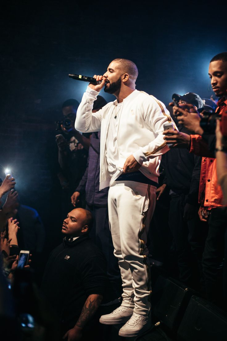 Section Boyz perform on stage with OVO's Drizzy Drake and Boy Better Know's Skepta in London, for their UK tour. UK Rap and Grime Music