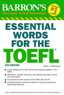 Barron Essential Words for the TOEFL