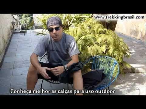 Calças para uso outdoor - Trekking Brasil