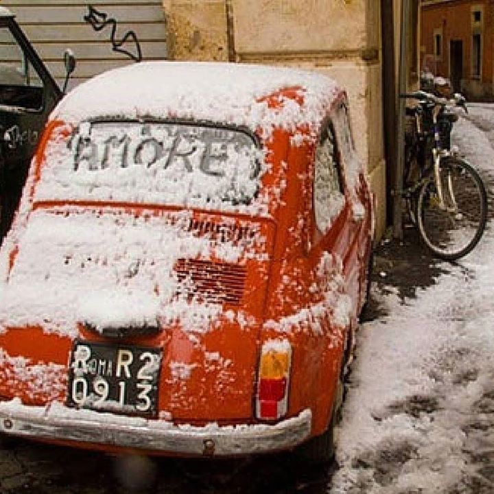 Arriverà la Neve? (by italyxp on Tumblr) http://ift.tt/1lxIEna #fiat500 #fiat500nelmondo #cinquecento