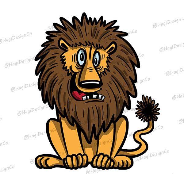 Lion Clipart Png Files Digital Animal Print Instant Download Etsy Cartoon Clip Art Clip Art Lion Clipart