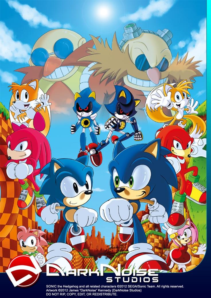 Sonic 20th: Generations Apart by DarkNoise-Studios.deviantart.com on @deviantART
