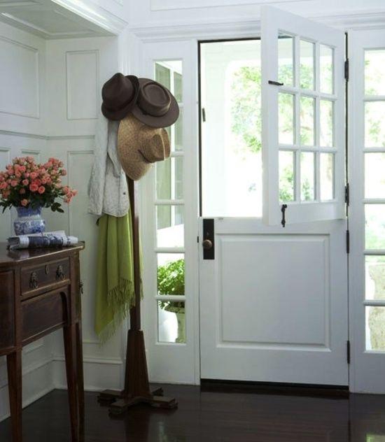 Dutch door for back door my style home pinterest for Kitchen back door