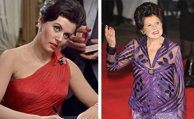 James Bond Girls – Then And Now - Eunice Gayson was the Bond girl who started it all. She starred in the first two Bond films from 1962 and '63, Dr. No and From Russia With Love, respectively.