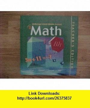 middle school math books pdf