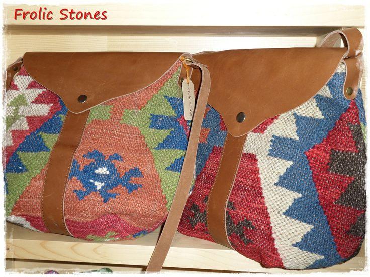 bohemian style kilim bags