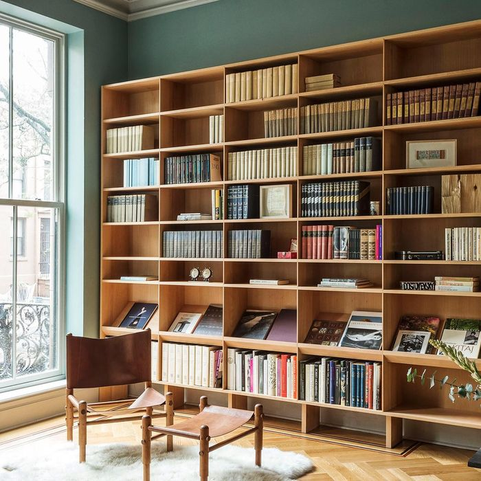 Built In Bookshelves Simple Nice Details Boerum Hill Brownstone Renovation