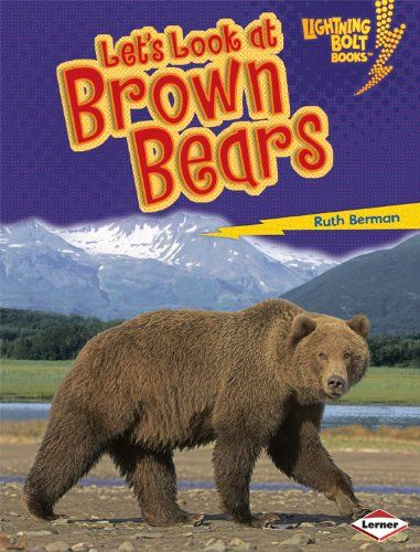 Let's Look at Brown Bears (Lightning Bolt Books: Animal Close-Ups (Library)) Price:$24.22