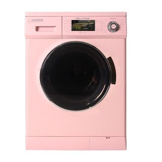 Compact Combo Washer Dryer with Condensing/ Venting with Automatic Water Level, Sensor Dry and 1200 RPM Spin Speed - 19766228 - Overstock - Big Discounts on Equator Washers & Dryers - Mobile