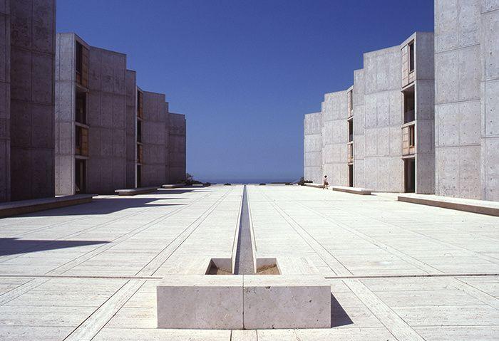 Louis Kahn Salk Institute, La Jolla, Californie (1959-65)