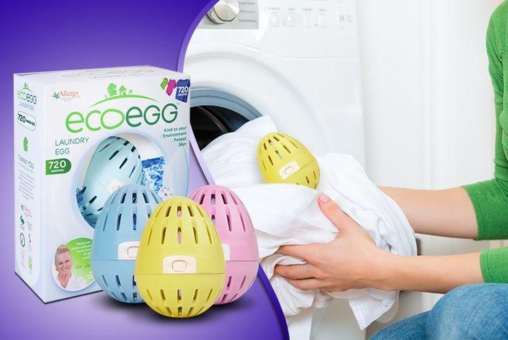 Vajíčko na praní bez vůně 210 praní Ecoegg. Využijte dopravu zdarma při nákupu nad 890 Kč nebo výdejní místo zdarma v naší kamenné prodejně NuSpring v Praze.