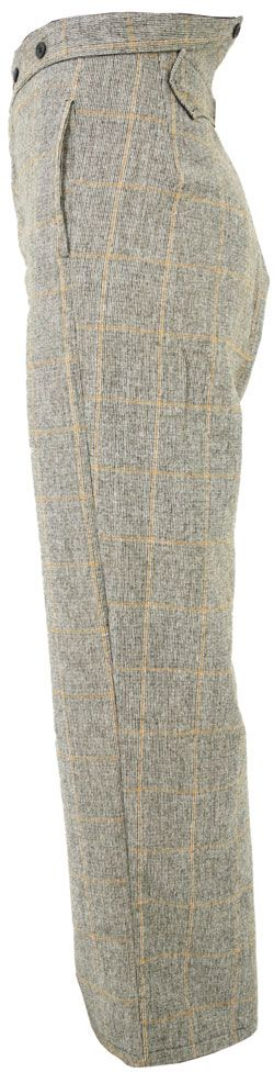 CT040 Tweed or Plaid Civilian Trousers BY www.sutlers.co.uk