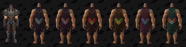 Tier 19 Hunter Cloak - Legion