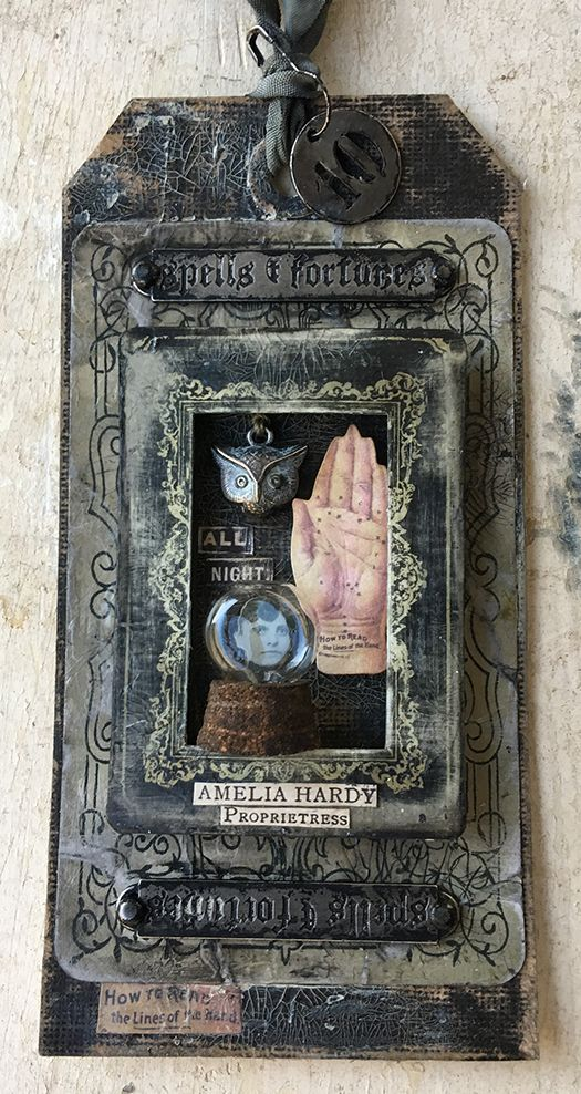 ten     Time : >2 Hour   Yield : 1 – #8 Tag   Wet Ingredients:   Ink –      Archival Hickory Smoke; Distress Old Paper, Walnut Sta...