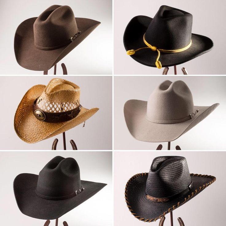 Happy National Hat Day! The modern cowboy hat has a long history in the American West. The way we know and see it today can be credited to John Batterson Stetson himself. Shop hats for men, women and children at The Museum Store! store.nationalcowboymuseum.org #hats #cowboyhat #cowgirlhat #felthat #strawhat #nationalhatday #hatday cowboyhats #cowgirlhats