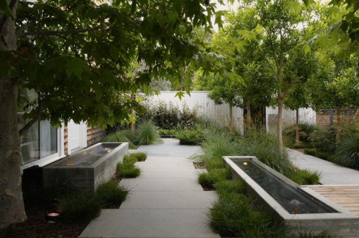 #Garden and #patio designs inspired by #concrete and its stylish uses