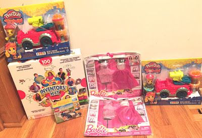 Toy Deals for Charity: Mail call!  Six new toy deals arrived today.