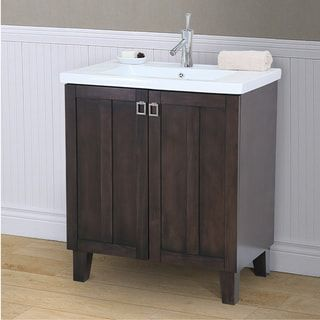 bathroom vanity sink tops. 30 inch Extra thick Ceramic Sink top Single Bathroom Vanity in Brown  Finish Best 25 vanity ideas on Pinterest bathroom