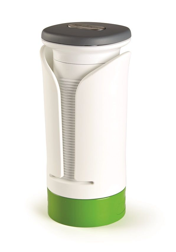The Zyliss spiraliser is designed to provide even pressure for long even spirals…