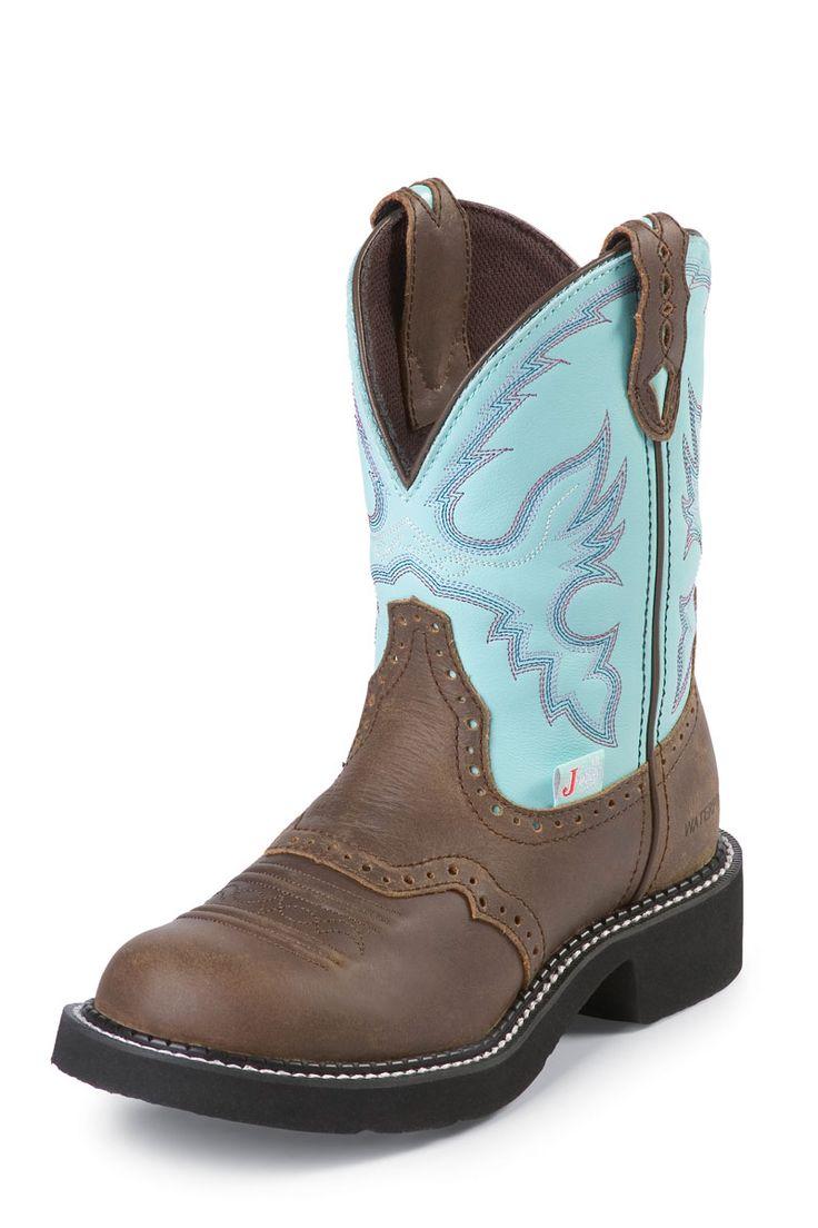 Justin Boots Bay Apache LOVE!