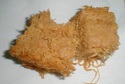 Vermicelli pudding - Poudine vermicelle