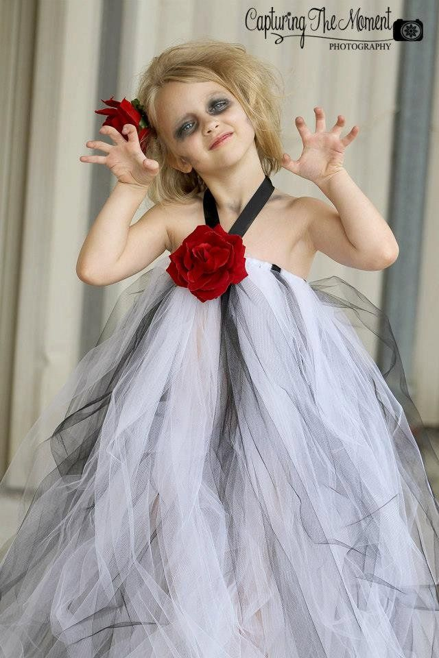 23 Ways to Repurpose an Old Princess Dress Into a Fresh Halloween Costume Zombie Princess Get in on the spooky fun and give your little one's innocent dress new life as a zombie princess.