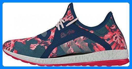 adidas Unisex-Erwachsene Pureboost X Fußballschuhe, Blau / Rot / Rosa / Weiß (Azumin / Azumin / Rolhal), 44 EU - Sportschuhe für frauen (*Partner-Link)