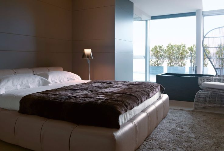 The Tufty Bed in a beautiful contemporary setting.