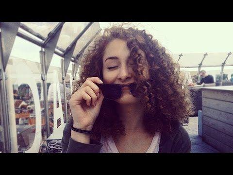 No-heat krullen/afro met rietjes! (heatless straw curls) ☺    Americole.nl - YouTube
