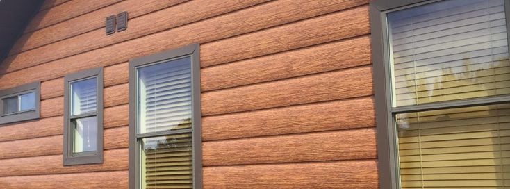 25 best ideas about log siding on pinterest log cabin for Vinyl siding that looks like stone
