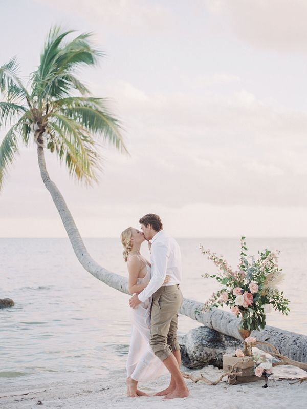Romantic Island Elopement Inspiration | Melanie Gabrielle Photography