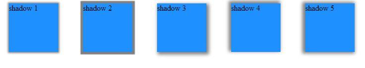 Web Designing and Development: Box Shadow CSS3