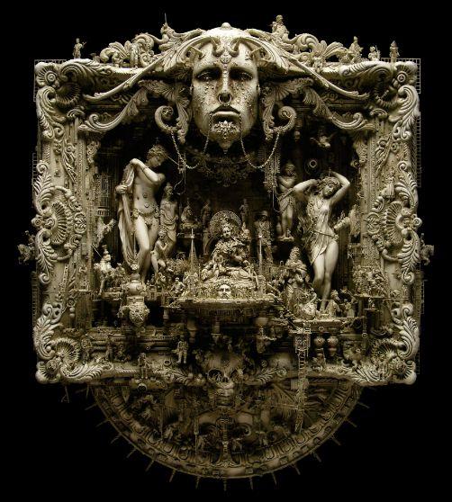 101 best kris kuksi images on pinterest sculptures art for Modern baroque art