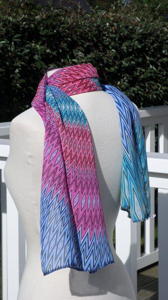 2bb3865eaa17 écharpe foulard étole châle snood cheche  femme  rose bleu  créateur   lin eva nouvelle collection automne hiver 2018 pour femme