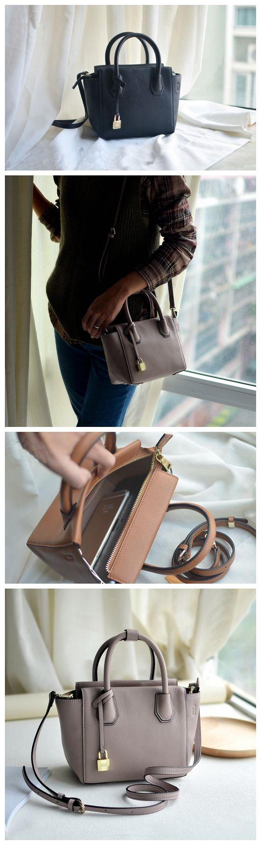 Smart Handmade Women Tote Bag, Leather Shoulder Bag, Messenger Bag PY005