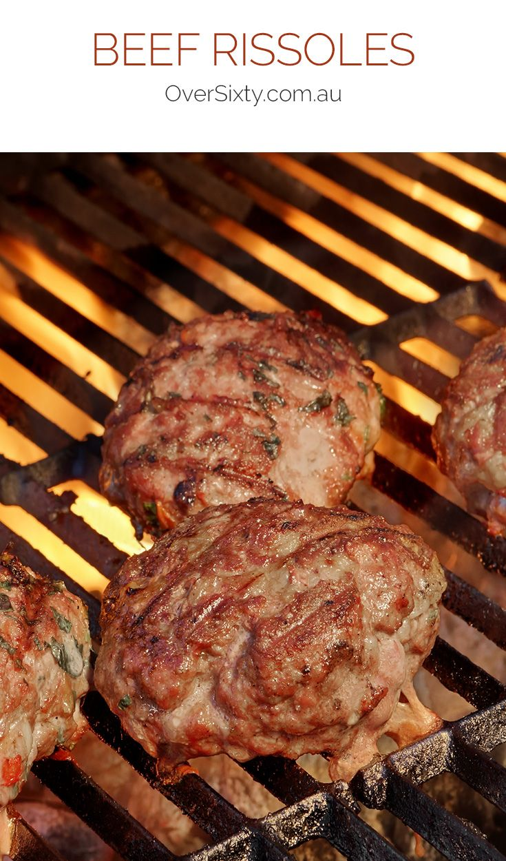 Beef Rissoles - Serve up these easy-to-make beef rissoles for a dinner the whole family will enjoy. Serve with potatoes and veggies.