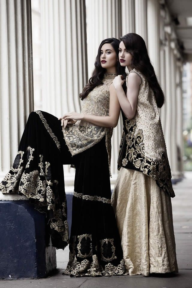 2015 Saira Rizwan Winter collection Pictures