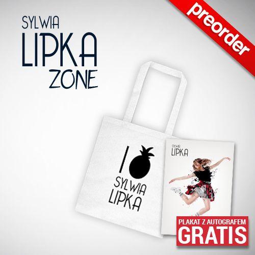 """(Preorder) Sylwia Lipka Torba bawełniania  """"I LOVE SYLWIA LIPKA"""""""