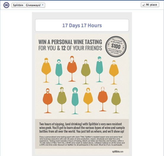 Un concorso per vincere una degustazione per 12 amici | #Splitbin is #givingaway a #wine tasting http://splitbin.com/ #socialmediamarketing #SocialMedia e #Vino