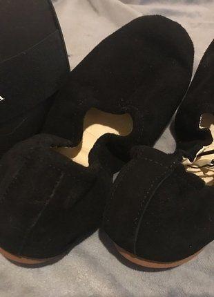 Kaufe meinen Artikel bei #Kleiderkreisel http://www.kleiderkreisel.de/damenschuhe/ballerinas/150639175-leder-ballerina-zara-35