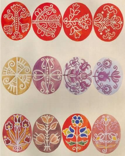 Magyar Traditional patterns