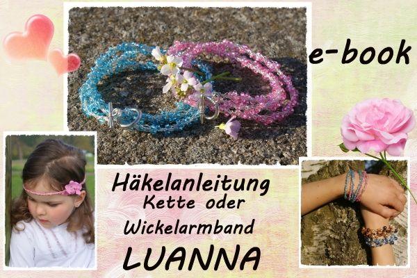E-book, Schmuckstück Luanna  Kette / Wickelarmband / Elfenkrone
