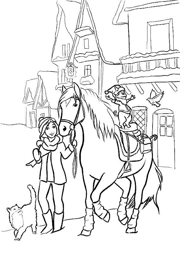 Star Stable Coloring Pages : stable, coloring, pages, Horse, Heart, Colors,, Stable,, Colorful