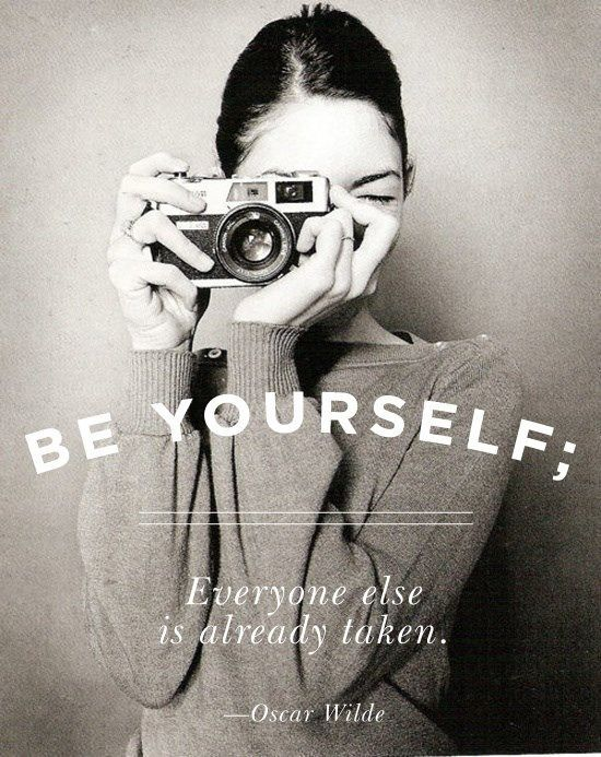 when you are not yourself, the world is not right.