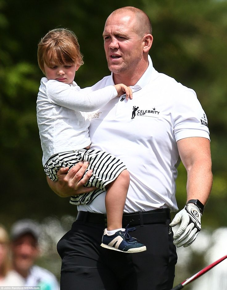 Tindall captained the England team at the star-studded event which also featured Real Madrid footballer Gareth Bale, actor Rob Brydon and singer Ronan Keating