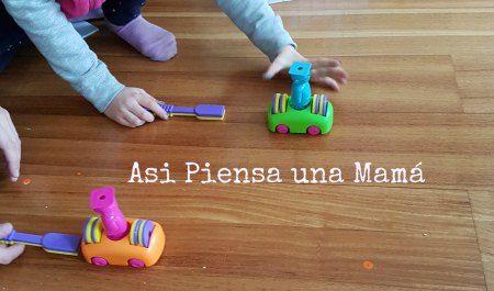 Experimentos para hacer en casa; ciencia casera; jugando a experimentar con imanes; ciencia para niños. Science for kids; playing with science at home