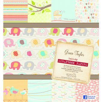 Grace Taylor - Lullaby Scrapbook Paper Pad
