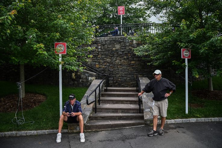 As the event draws attention to the president's ownership of a golf course, fans wonder if the president will appear in person. Absolute depravity of the Presidency!
