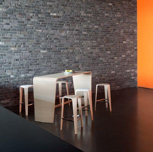 high bar table oak hpl hoc by jehslaub brunner