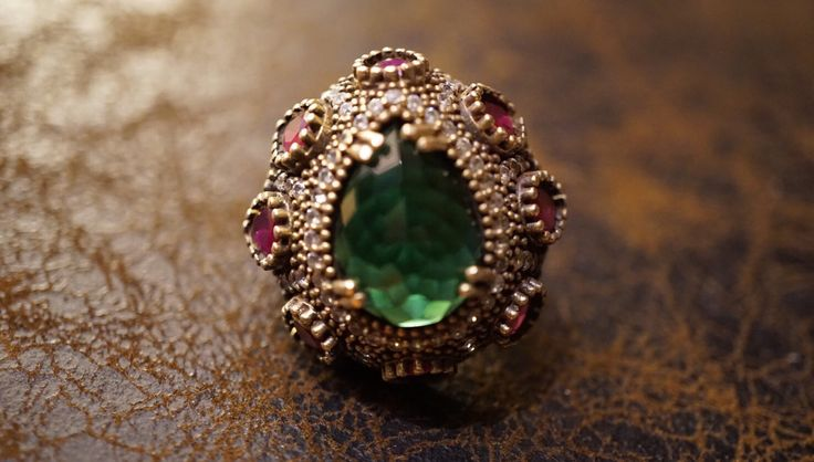 A personal favorite from my Etsy shop https://www.etsy.com/listing/474687914/diamond-ruby-ringancient-broonzesterling